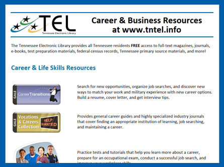 TEL Career and Business Resources