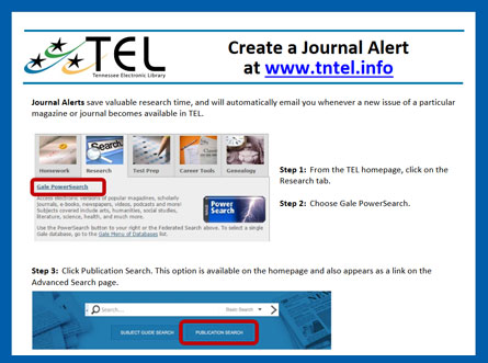 Create Journal Alert screenshot