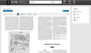 Screenshot of GVRL ebook viewer