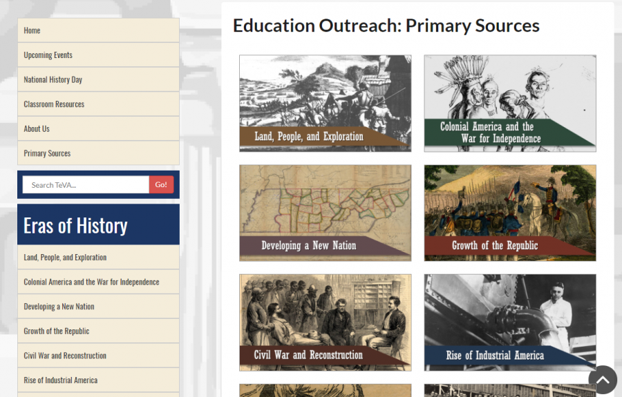 Education Outreach screenshot