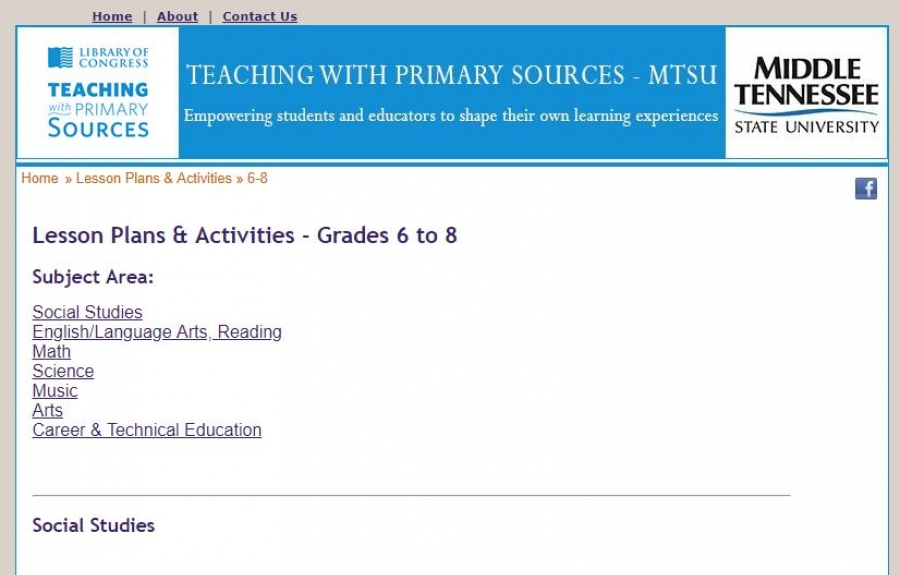 Lesson Plans and Activities screenshot