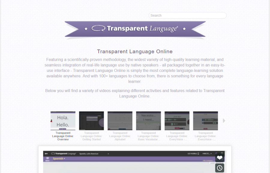 Transparent Language video screenshot