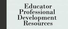 Educator Professional Development Resources icon